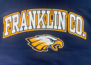 Solid Navy Franklin Co. Hoodie