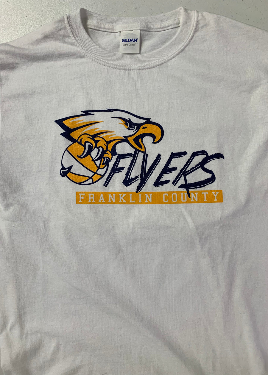 Franklin County Flyers Basketball Tee