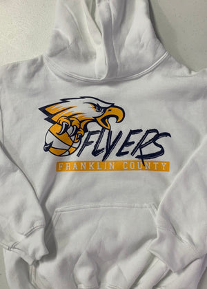 Franklin County Flyers Basketball Hoodie
