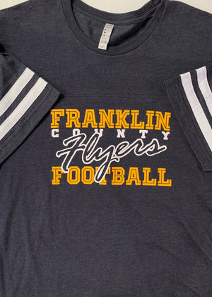 Franklin County Flyers Football Jersey Sleeve Tee