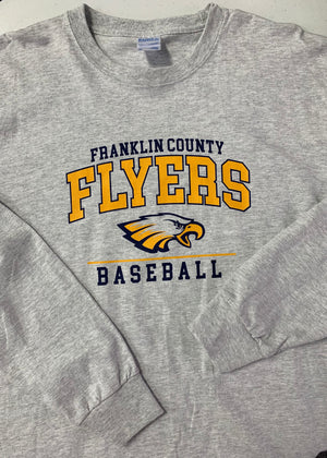 Franklin County Flyers Baseball Long Sleeve Shirt