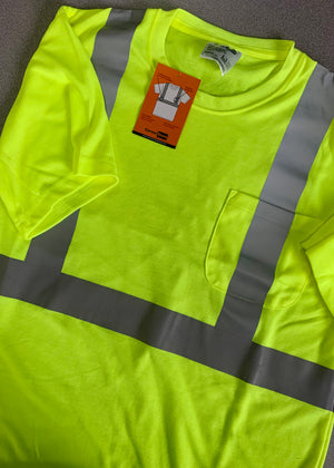 Corner Stone High Visibility Safety T-Shirt