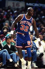 PFL: Basketball Jersey Draft. Round 1 Seventh Pick : New York Knicks Road Blue 92/93 B