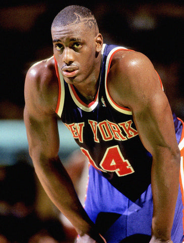 PFL: Basketball Jersey Draft. Round 1 Seventh Pick : New York Knicks Road Blue 92/93