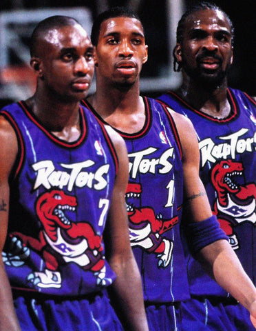 PFL: Basketball Jersey Draft. Round 1 Eighth Pick : Raptors Jersey Road Purple 95/96