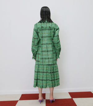 Checkered Oversized Coat