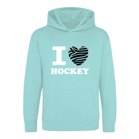 I love Hockey Zebra Trui