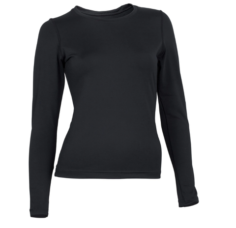 Rhino Thermoshirt Dames - Zwart