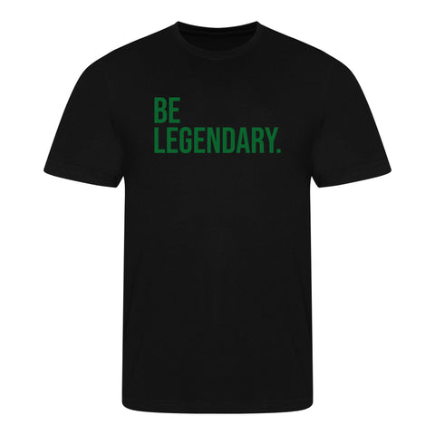 Be Legendary Shirt - Zwart Heren