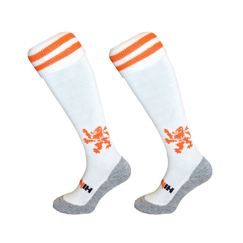 Hingly Sock - Lion white/orange