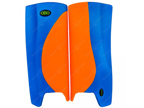 OBO Robo Legguards Hi-Rebound Orange/ Blue