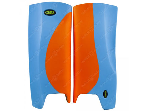 OBO Robo Legguards Hi-Rebound Orange/ Light Blue