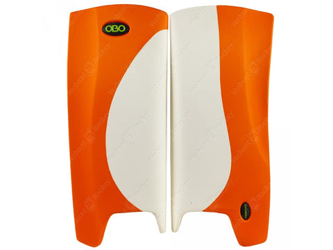 OBO Robo Legguards Hi-Rebound White/ Orange