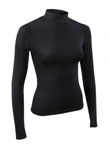 Dames thermoshirt Playerlayer hoge hals