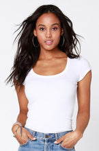 Load image into Gallery viewer, BOBI Los Angeles Scoop Neck Tee
