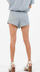 LUCCA Kylee Overlay Lace Up Short
