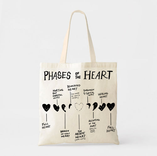 Phases of the Heart: Tote Bag