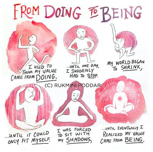 From Doing to Being