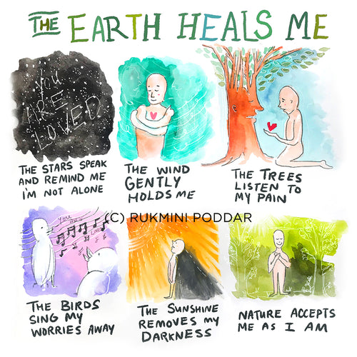 The Earth Heals Me