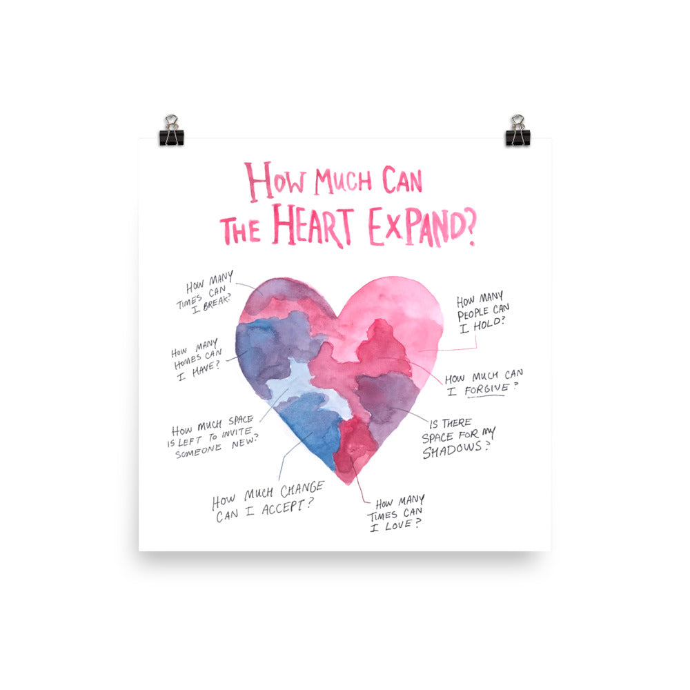 How Much Can The Heart Expand?