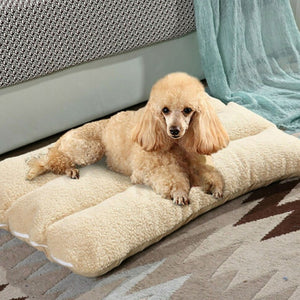 Thick Fleece Cushion Blanket | nezzypuppers