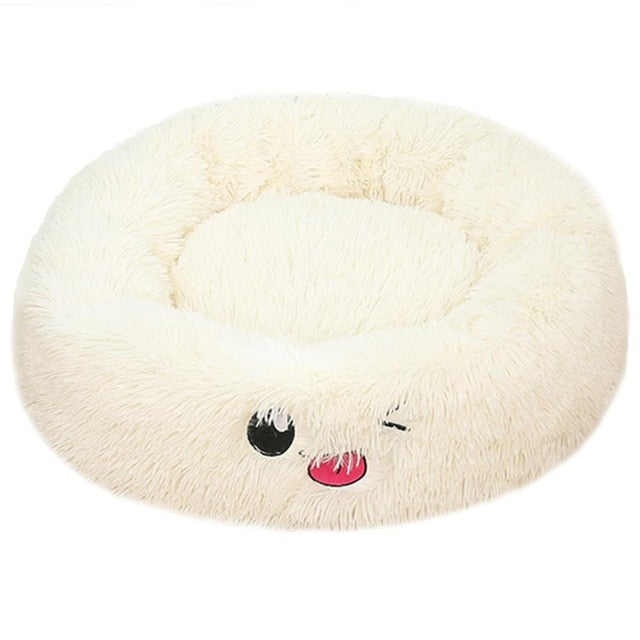 Super Soft Dog Bed Washable long plush Dog Kennel Deep Sleep Dog House Velvet Mats Sofa For Dog Chihuahua Dog Basket Pet Bed | nezzypuppers