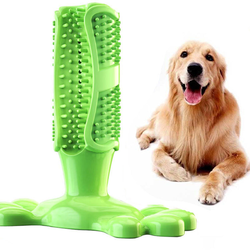 Dog Toy Dog Chew Toys Dog Toothbrush Pet Molar Tooth Cleaning Brushing Stick Doggy Puppy Dental Care Dog Pet Supplies | nezzypuppers