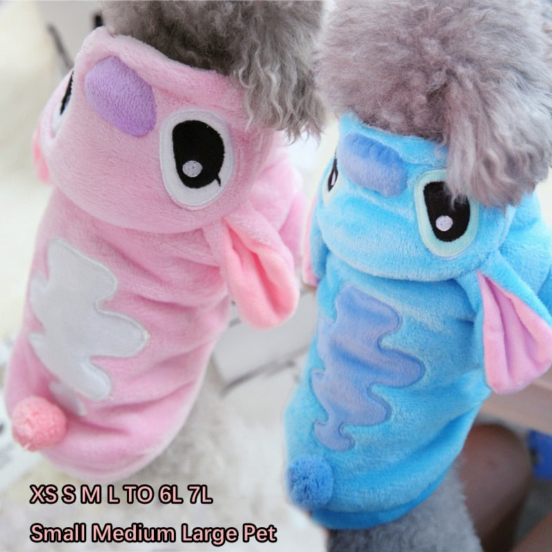 Lovely Golden Retriever Dog Clothes Winter Pet Small Medium Large Hoodie Coat Jacket Warm Pink Blue Big Animal Costumes Outfit
