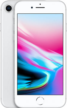 iPhone 8 – 64GB – Silver – Grade A buy under 200 in UK
