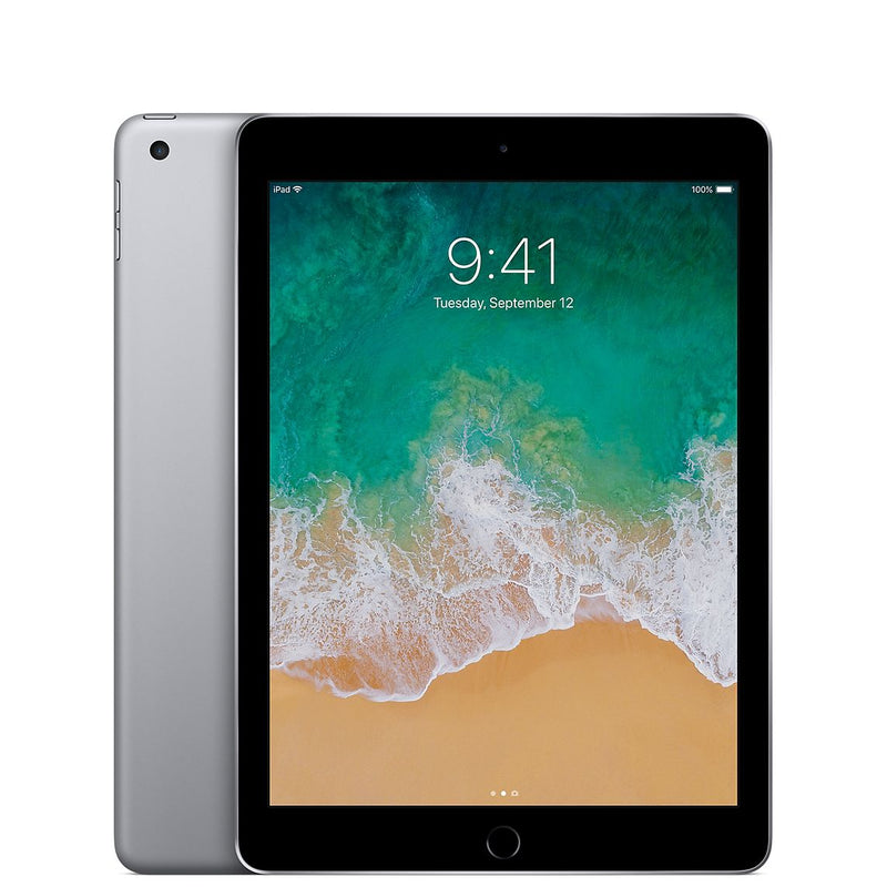 Apple - iPad (5th generation) with WiFi - 32GB - Space Gray Grade B
