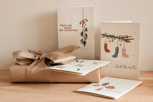 Christmas Blooming Cards 4 Pack