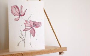 Magnolia Blooming Card
