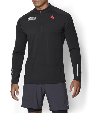 Tarawera Ultramarathon Men's Flint Long Sleeve Running Top