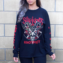 Load image into Gallery viewer, Long Sleeve Knotfest Worldwide T-shirt