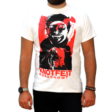 Load image into Gallery viewer, Knotfest Roadshow White Splatter Tee