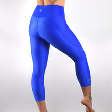 Load image into Gallery viewer, INVIGORATE High Waisted Cropped Running Leggings