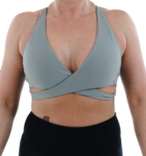 Load image into Gallery viewer, ESCAPE Cross Over Yoga Bra