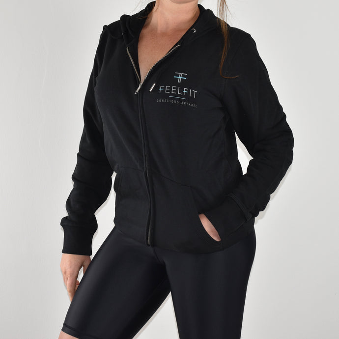 Escape Unisex Sustainable Zip Through Hoodie