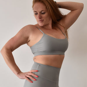 SIGNATURE Bralette XL / Moon - Grey