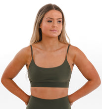 Load image into Gallery viewer, SIGNATURE Bralette XL / Tribu - Olive
