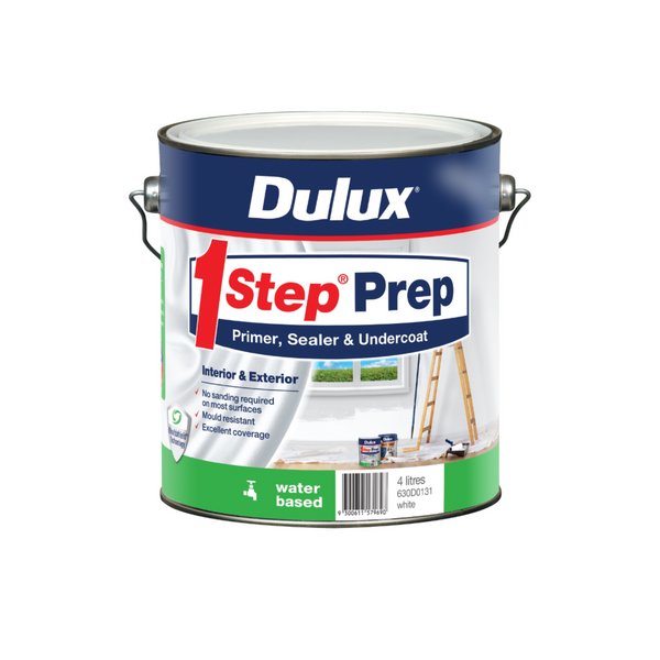 Dulux 1Step Prep Water Based Primer, Sealer & Undercoat
