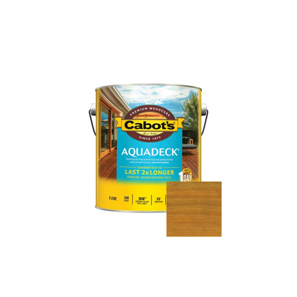 Aquadeck Decking Oil (Amber)