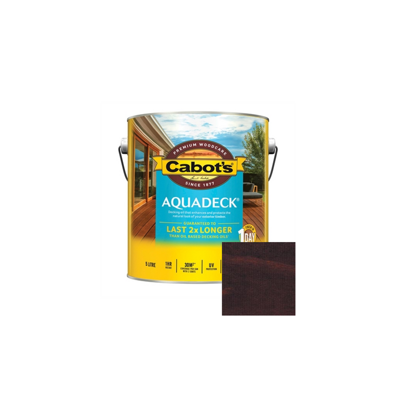 Aquadeck Decking Oil (Burnt Walnut)