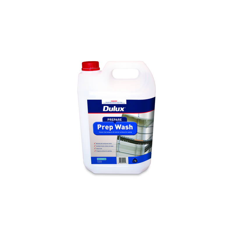 Dulux Exterior Prep Wash Cleaner 5L