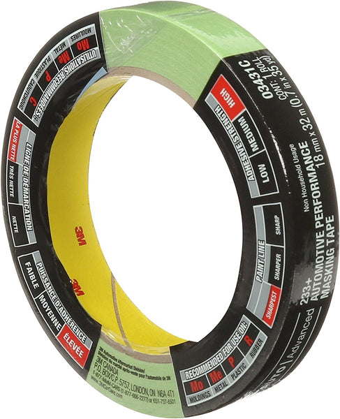 3M Automotive Performance Masking Tape - 18mm x 32m