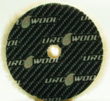 "Buff and Shine 6.125"" Uro-Wool 100% Knitted Wool Cutting Pad"