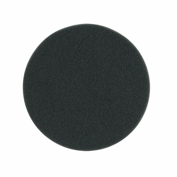 "Buff And Shine 5"" Black Finishing Flat Faced Foam Pad"