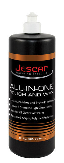 Jescar All-In-One Polish & Wax 32oz