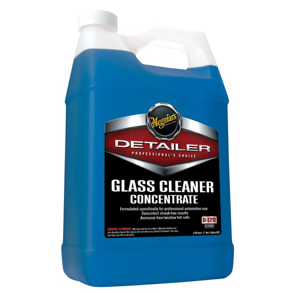 Meguiar's Glass Cleaner Concentrate - 1 gal