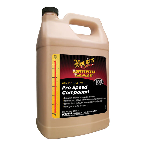 Meguiar's Mirror Glaze Pro Speed Compound 1 gal